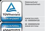 jameda erhält TÜV Rheinland-Zertifizierung für geprüften Datenschutz und Datensicherheit